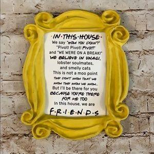 Friends Monica door frame